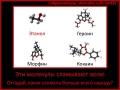 молекулы наркотиков
